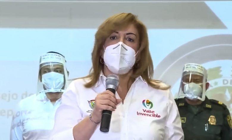 Gobernadora del Valle confirmó que padece cáncer