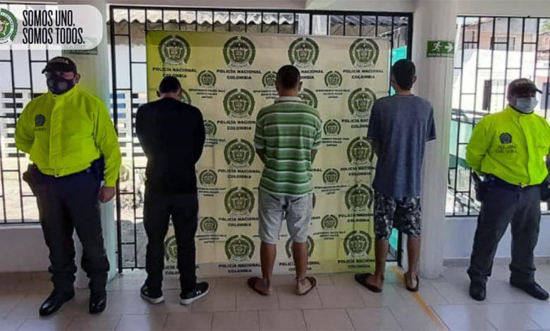 """Por hurto calificado capturan a presuntos integrantes de """"Los RX"""" en Cartago"""