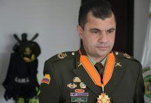 El Coronel Javier Navarro se despide de la dirección del Depto de Policía del Valle