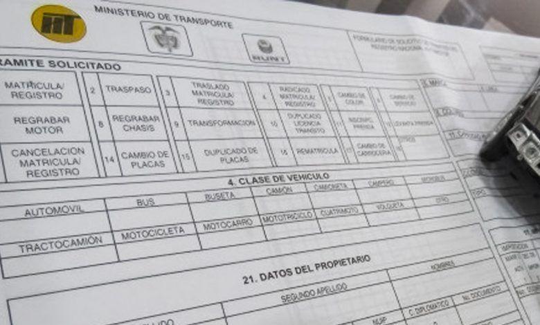 A sanción nueva tabla tarifaria de servicios de tránsito en el Valle del Cauca