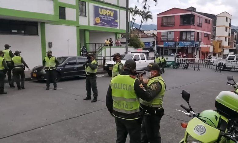 Fuga de presos contagiados de COVID-19 en Pereira