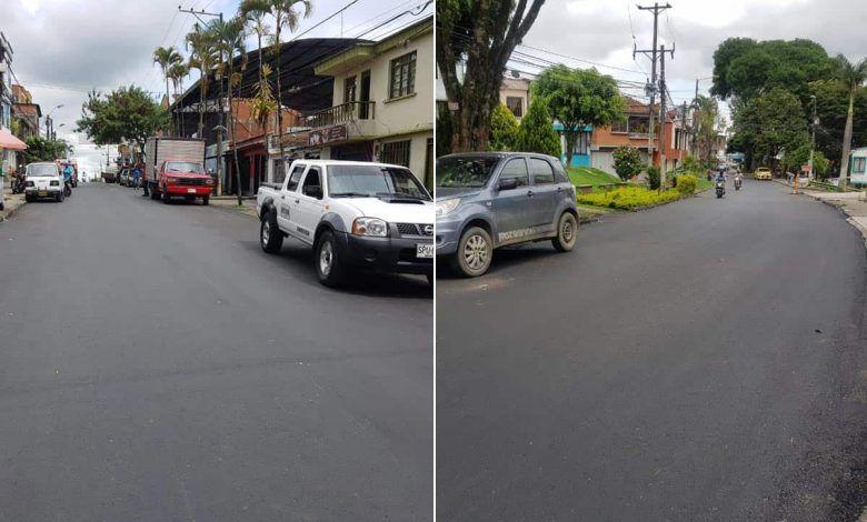Rehabilitan la carrera 15 del barrio San Nicolás de Pereira