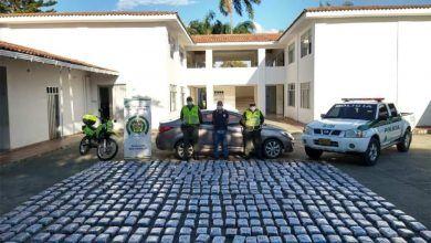 Incautaron más de 350 kilos de marihuana en Roldanillo