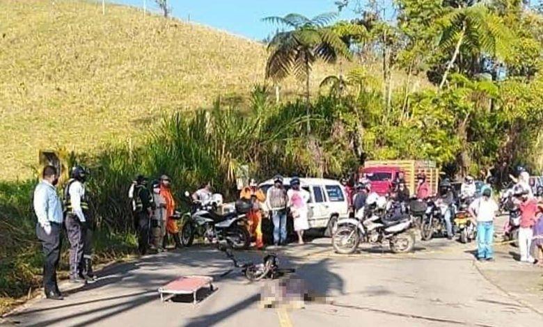 Una persona murió en accidente en la vía Caicedonia – Sevilla