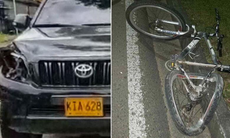 Ciclista perdió la vida en accidente con camioneta por la av. 30 de agosto