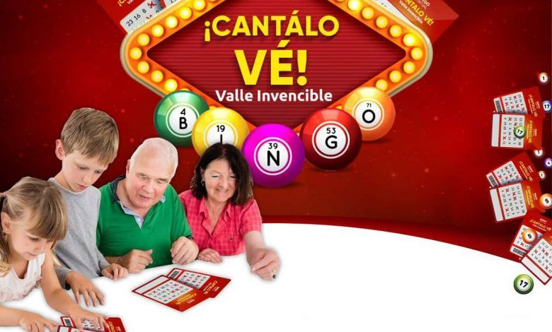 Desde este 5 de septiembre, vallecaucanos a jugar el Bingo 'Cantalo Vé'