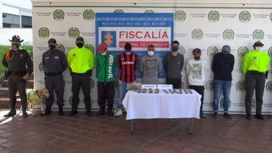 Capturados seis presuntos integrantes de 'Ares' en Risaralda