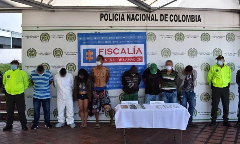 Con 11 capturados desarticulan banda delincuencial Ibiza en Pereira