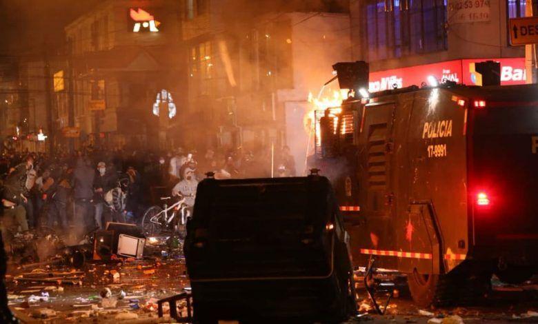 5 muertos en Bogotá, dejan las protestas por caso de abuso policial