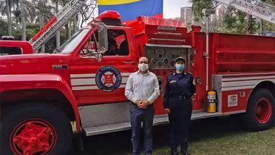 Bomberos de Cartago recibió máquinas extintoras