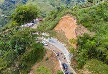 Entregan obras de mitigación de riesgo en zona rural de Dosquebradas