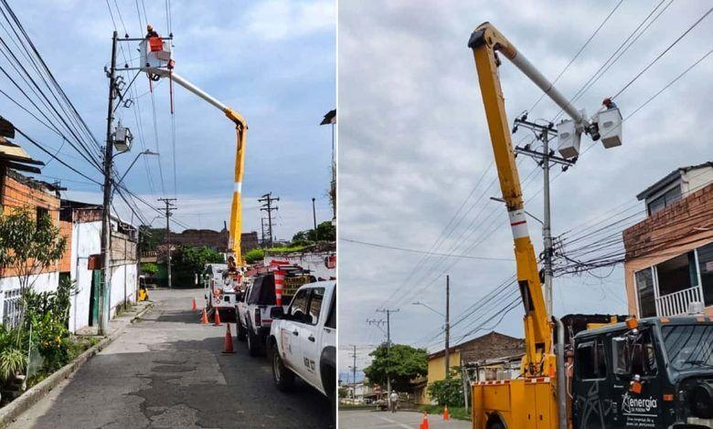 Más de 9 mil usuarios se quedaron sin energía en Cartago