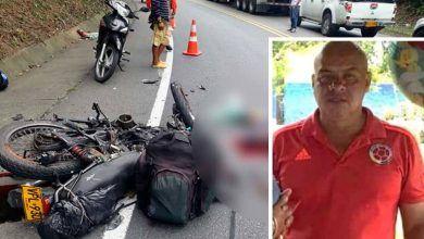 Falleció hombre que sufrió accidente en la vía La Tebaida – La Paila
