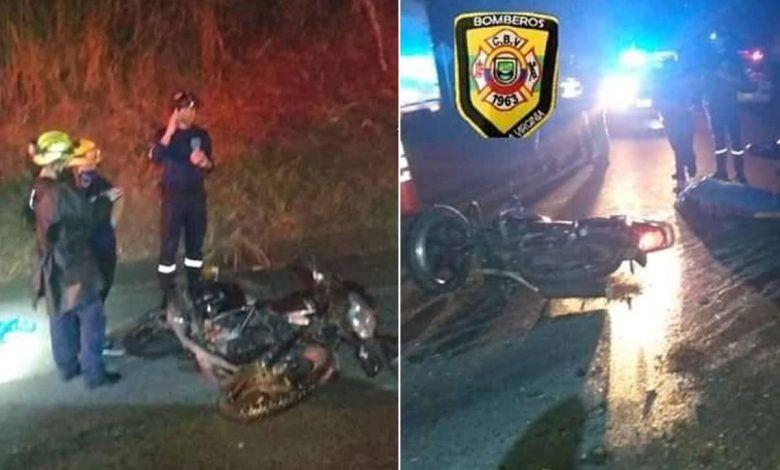 Dos personas murieron en accidente en la vía La Virginia – Cerritos