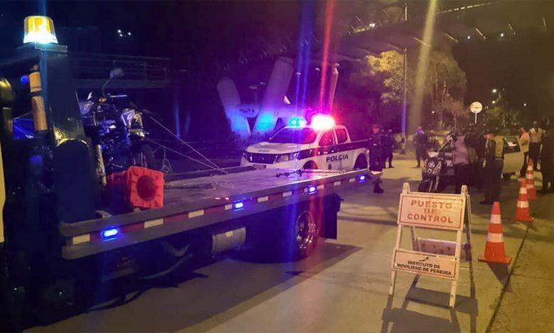 Caravana de Halloween en Pereira dejó más de un centenar de sancionados