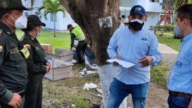 CVC entregó elementos para manejo de Fauna a policía de Cartago