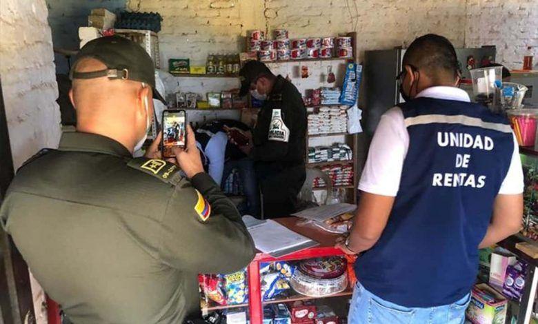 Decomisan licor de contrabando y adulterado en Jamundí