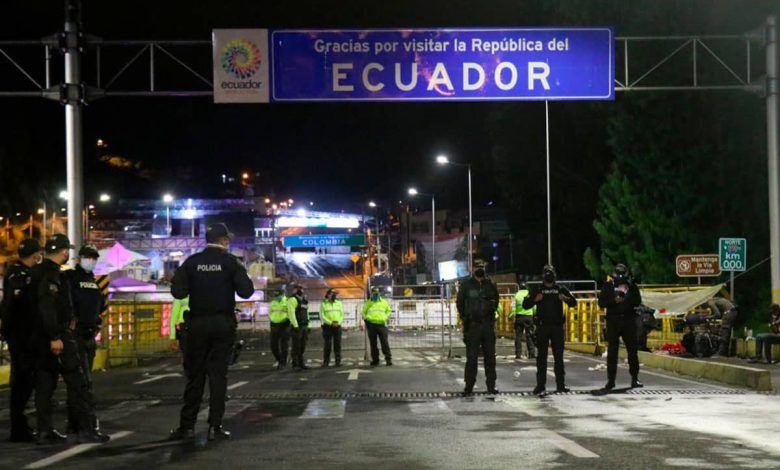 Estudian reabrir frontera terrestre con Ecuador a partir de noviembre