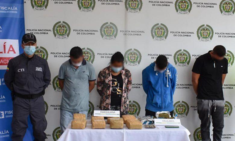 Capturan a cinco presuntos integrantes de la banda delincuencial 'Gesta'