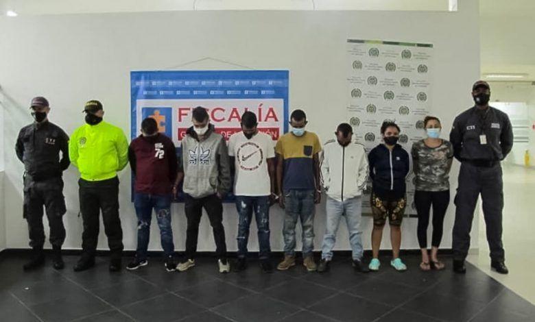 Desarticulan banda delincuencial 'Dinastía' en Pereira