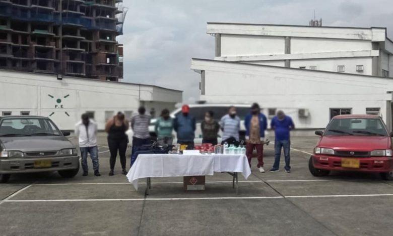 Capturan a 'Los Colombos' en Pereira, banda que hurtaba en almacenes de cadena