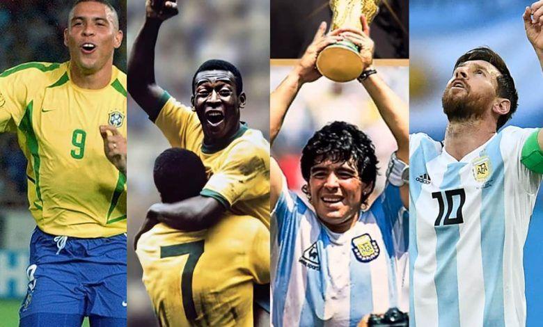 Mejores jugadores latinoamericanos de fútbol