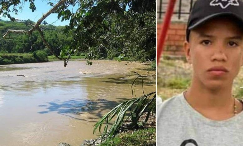 Continúa la búsqueda del cuerpo del menor que se ahogó en río de La Vieja