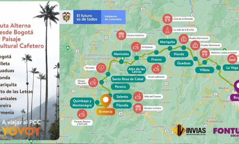 Medidas para tránsito en año nuevo por Calarcá-Cajamarca y Mariquita-Alto de Letras