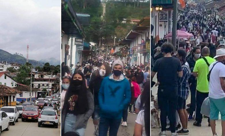 Alarma por cientos de turistas en Salento y Filandia que no cumplen medidas de autocuidado
