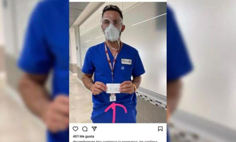 Cirujano plástico dijo no haberse «saltado» la fila en vacunación contra la COVID-19
