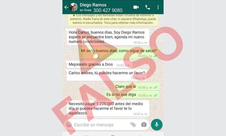 En Dosquebradas están estafando a nombre del alcalde Diego Ramos