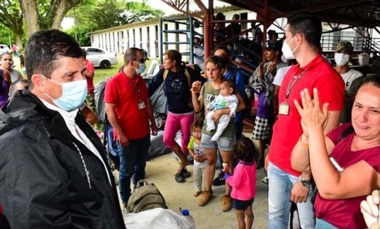 Familias desalojadas en Puerto Caldas ya cuentan con albergue temporal