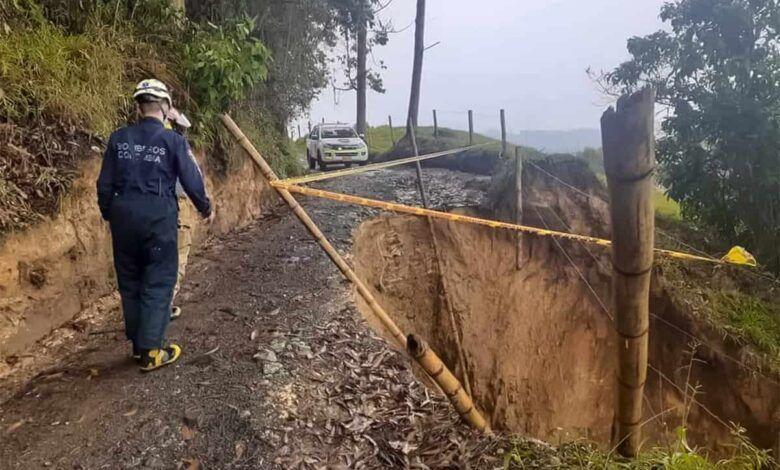 Decretan calamidad pública en Santa Rosa de Cabal por emergencias generadas por las lluvias