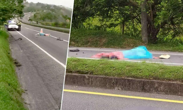 Accidente en la vía Cerritos – Cartago; un hombre en bicicleta falleció