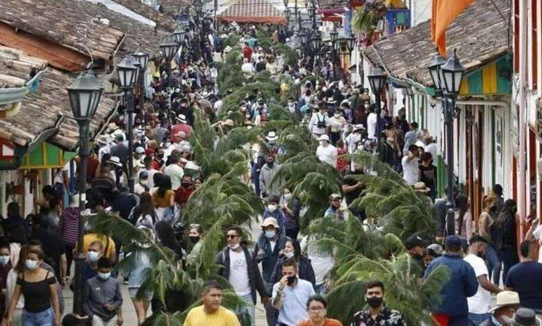 Turistas inundan las calles de Salento, Filandia y Circasia ¿casos de COVID aumentarán?