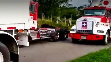 Caravana que transportaba medicamentos fue atacada por vándalos en el Valle