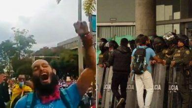 Lucas Villa, el estudiante de la UTP que fue baleado en el Viaducto de Pereira