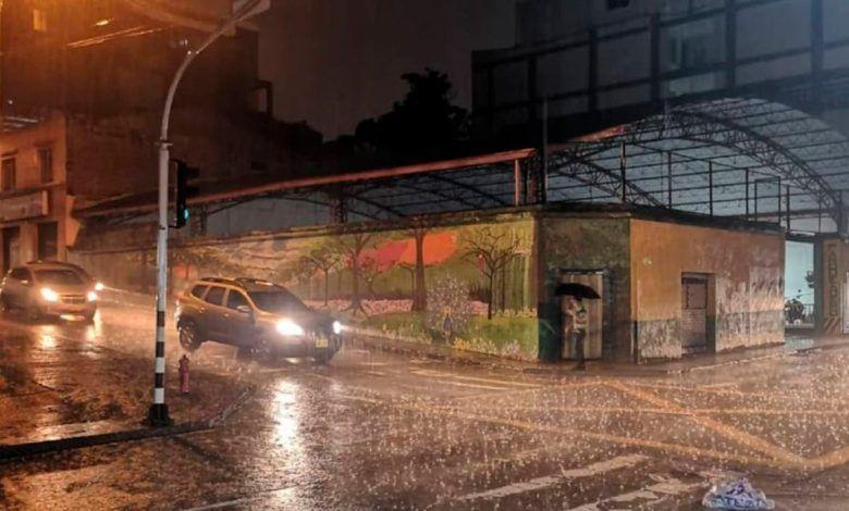Lluvias en Pereira