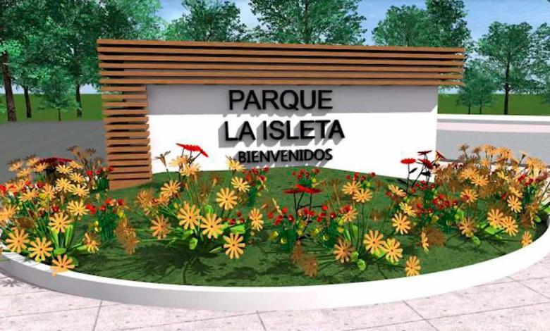 Render. Parque La Isleta Cartago