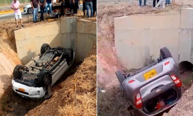 Accidentes vía Cali - Yumbo