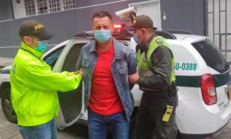 Néstor Tarazona, capturado en Pereira