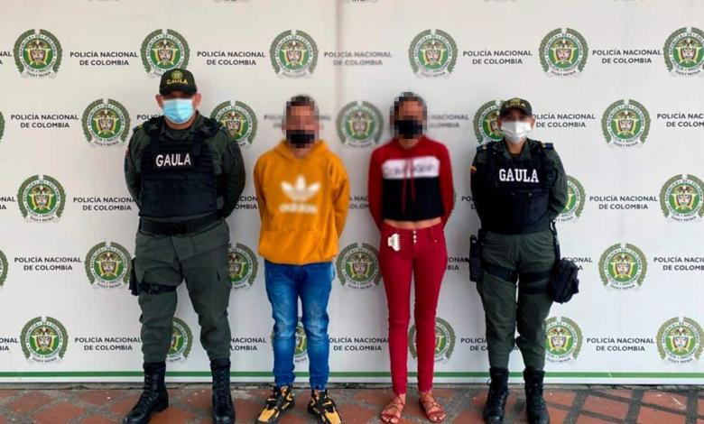 Extorsionistas capturados en Dosquebradas