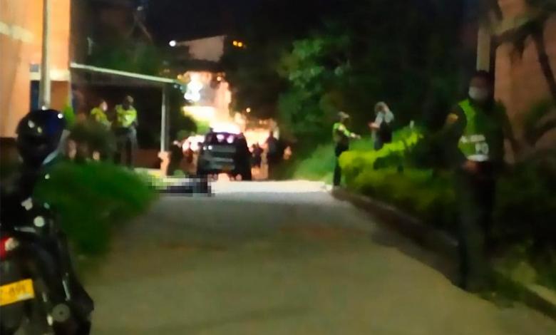 Mototaxista asesinado en Cartago en el barrio José Gabriel Calderón