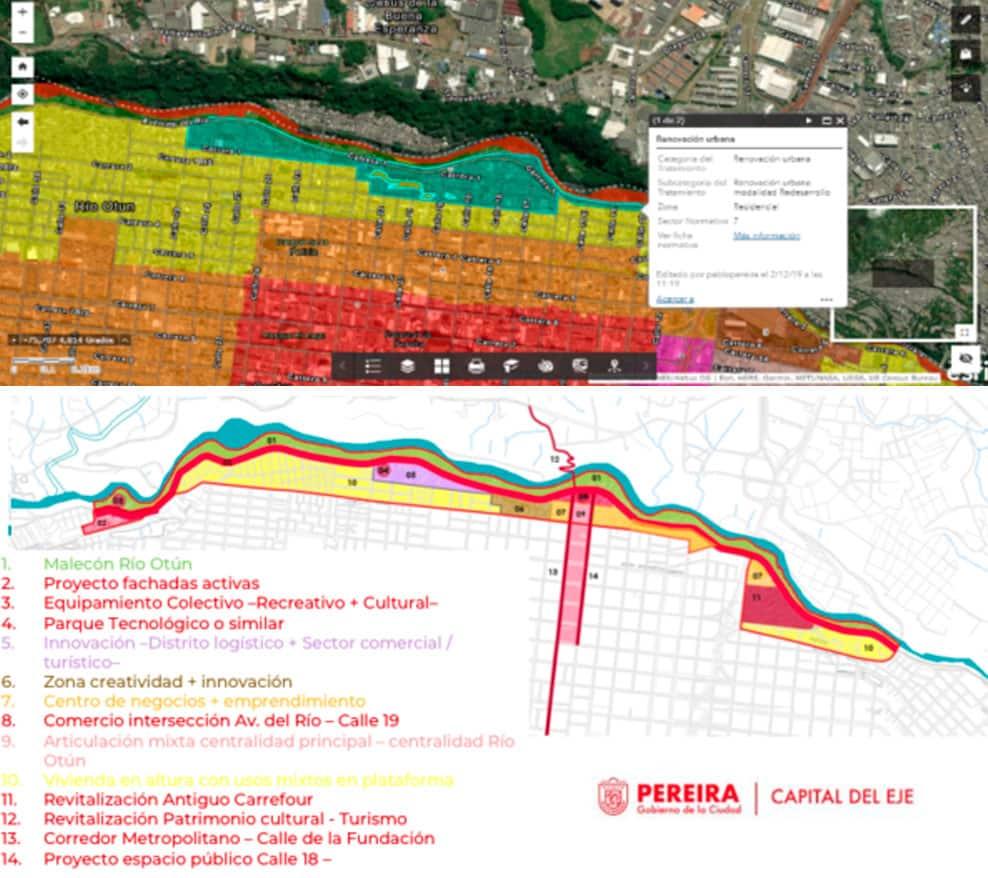 Proyecto Malecón del Río Otún