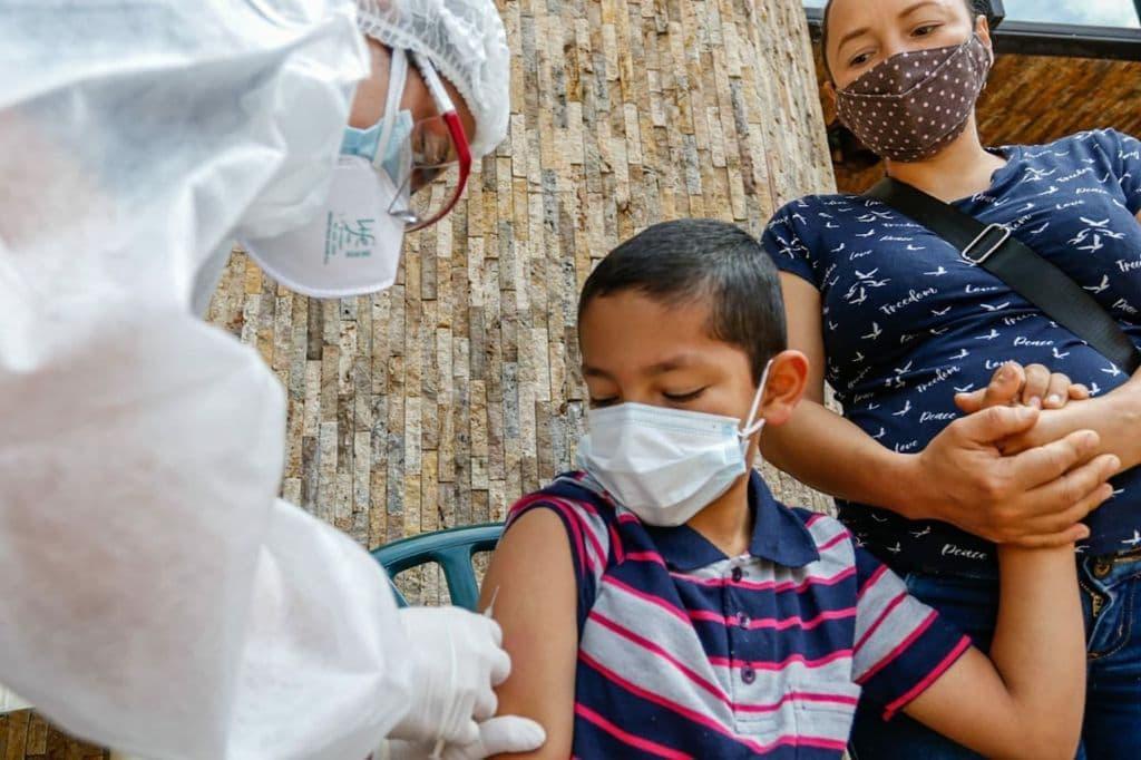 Vacunación Rubeola y Sarampión