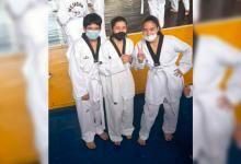 Argelia. Jóvenes deportistas de Taekwondo